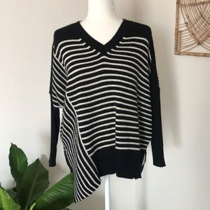 Romeo & Juliet Couture striped batwing sweater